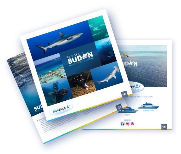 Diving in Sudan, liveaboard offer brochure icon