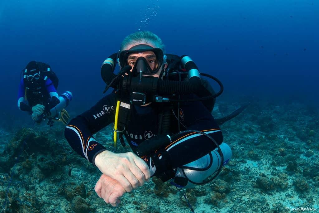 Mares Horizon quiet diving in the Maldives