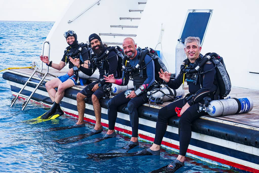 Mares Horizon recreational liveaboard diving in the Maldives